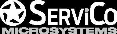 Logo ServiCo Microsystems - remonty, certyfikacje i programowanie maszyn przemysłu spożywczego.